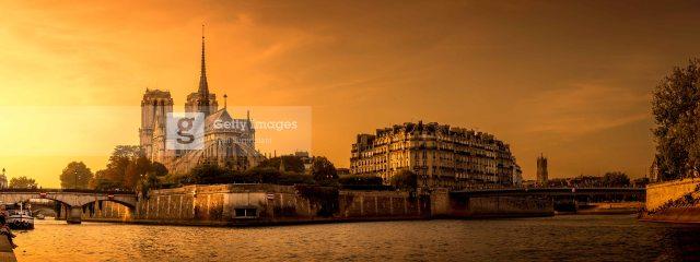 Notre-Dame de Paris, 2014. Traitement DRI.