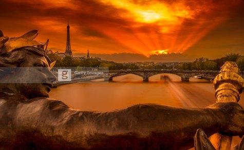 Pont Alexandre III, 2014. Traitement DRI.