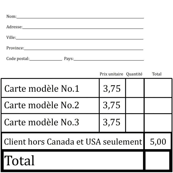 Bon de commande site web-Canada