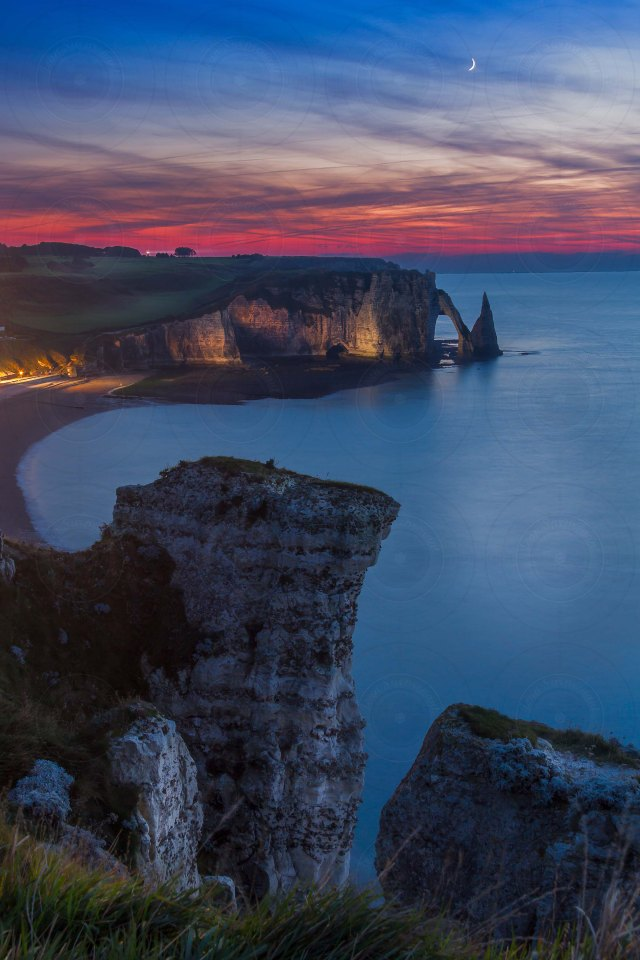 Etretat Blue Hour DRI-Getty-Finale