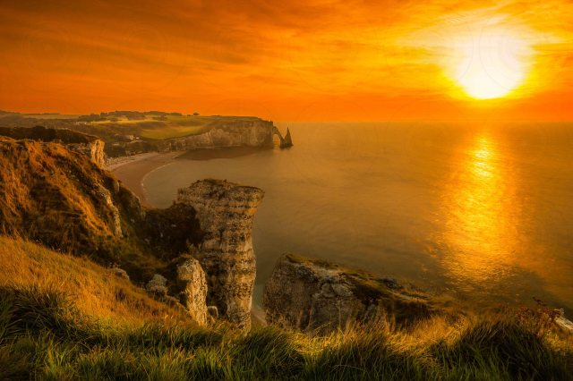 Etretat Sunset DRI-Getty-Finale