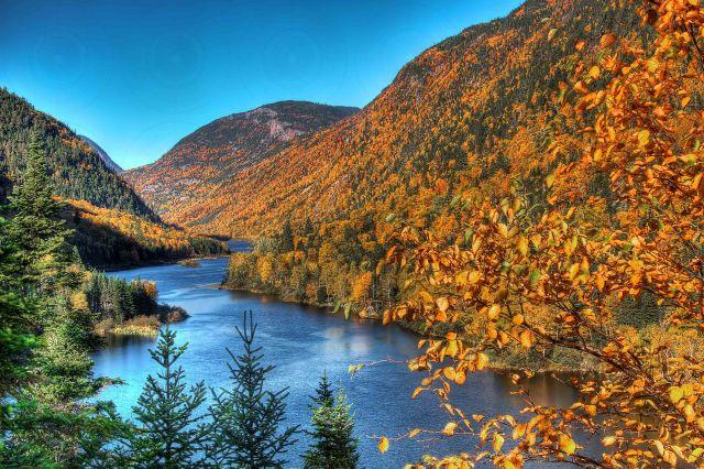 Haute gorge de la rivière Malbaie HDR I-Getty-FINALE