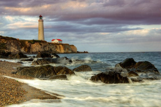 Late afternoon Cap-des-Rosiers Lighthouse HDR-Getty-FINALE