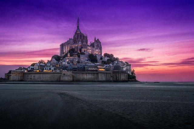 Mont St-Michel At Night DRI-Getty-Finale