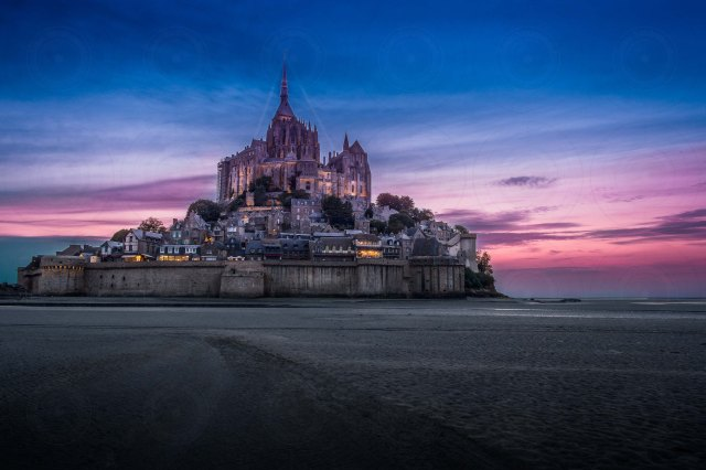 Mont St-Michel At Night II DRI-Getty-Finale