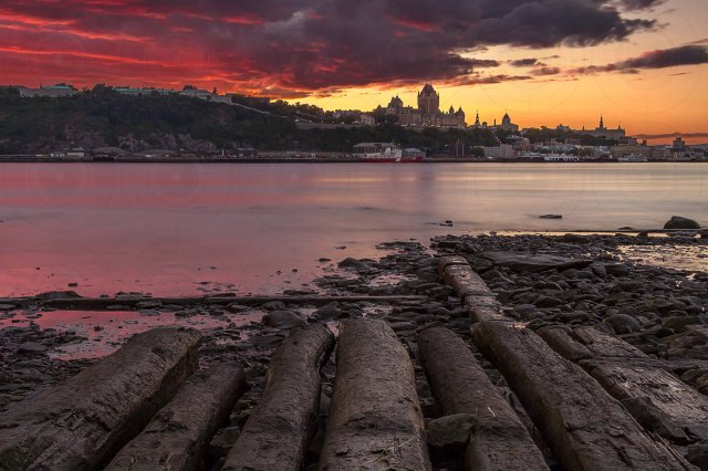 Quebec city Cloudy Sunset DRI-Getty-FINALE