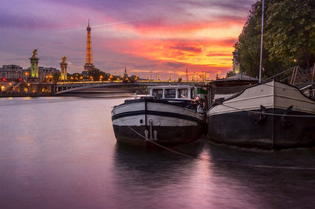 Seine River Sunset-DRI-Getty-Finale