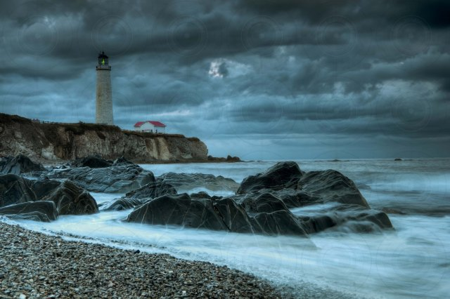Stormy Cap-des-Rosiers Lighthouse HDR-Getty-FINALE