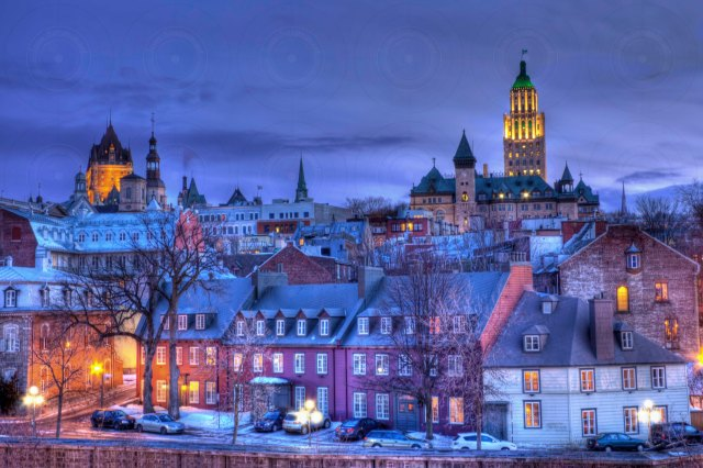 Vieux Quebec HDR I-Getty-FINALE